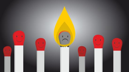 Il burnout è ufficialmente riconosciuto